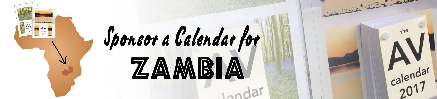 Sponsor a Calendar for Free Distribution in Zambia