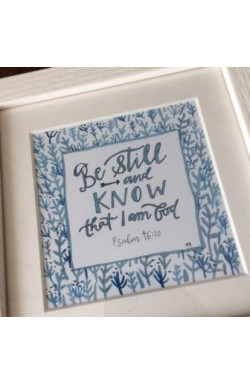 Framed Print - Be Still and Know