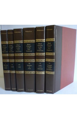 Word Pictures in the New Testament (6 Volumes)