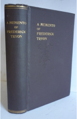 Memento of Frederick Tryon