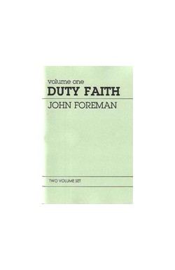 Duty Faith (2 vol set)