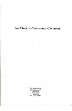 For Christ's Crown and Covenant