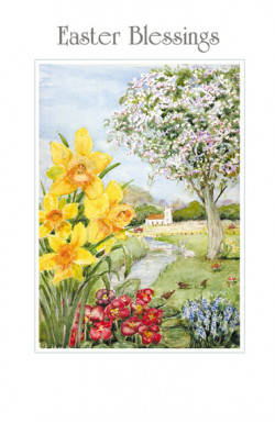 Easter Blessins - Pk of 5 identical cards
