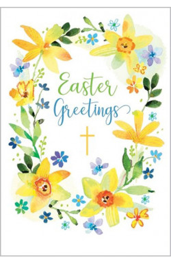 Easter Blessings - Pack of 5 identical cards