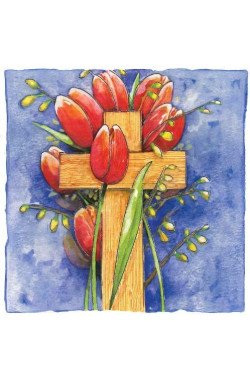 Easter Blessings - Pack of 6 identical cards