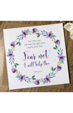 Fear Not - Greetings Card