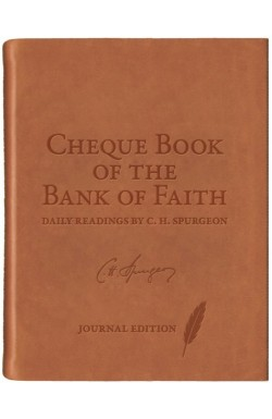 Cheque Book of the Bank of Faith - Journal Edition