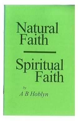 Natural Faith - Spiritual Faith
