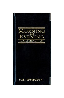 Morning and Evening Portions (Black)
