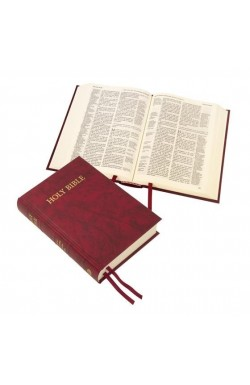 KJV Compact Westminster Reference Bible, Red hardback