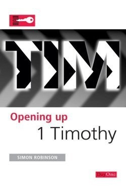 Opening up 1 Timothy