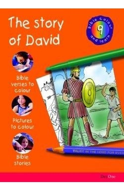 Bible Colour & Learn - The Story of David