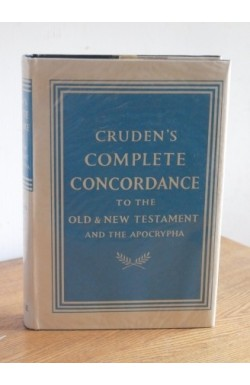 Cruden's Complete Concordance (with Apocrypha)
