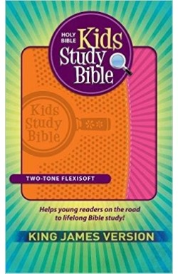 KJV Kids Study Bible, Imitation Leather Blue/Green