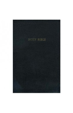 The King James Study Bible Black Bonded Leather