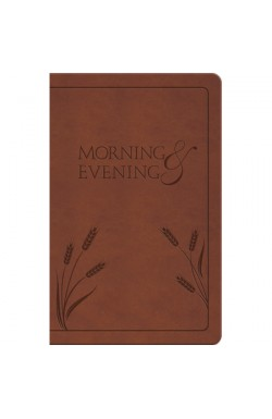 Morning and Evening - soft tan binding