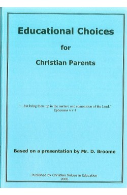 Educational Choices for Christian Parents