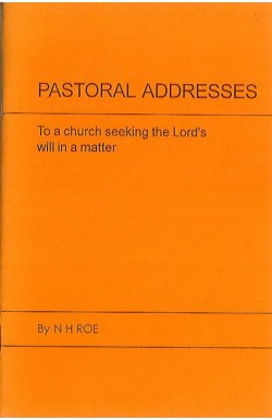 Pastoral Addresses