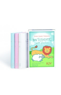 KJV New Testament and Psalms, White