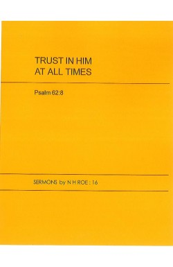 Trust in Him at all Times