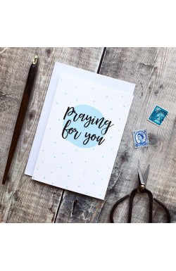 Praying for You - Scripture Greetings Card