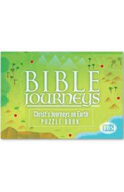 Bible Journey's Puzzle Book - Christ's Journeys on Earch