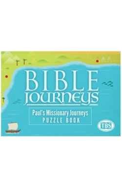 Bible Journeys Puzzle Book - Paul's Missionary Journeys