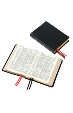 KJV Large Print Westminster Reference Bible, Black, Hardback