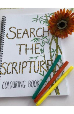 Search the Scriptures Colouring Book