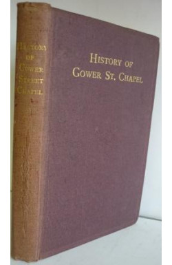 History of Gower Street Chapel, 1820-1917-1920