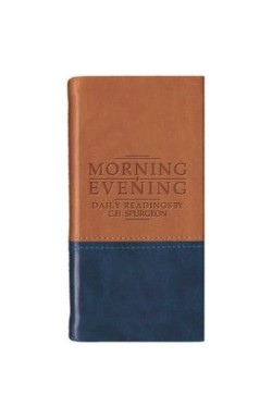 Morning and Evening Portions (Tan/Blue)