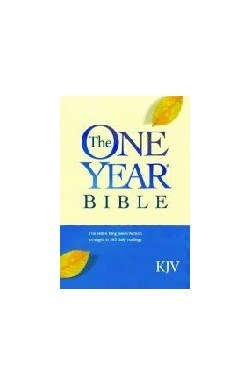 KJV One Year Bible (paperback)