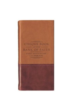 Cheque Book of the Bank of Faith (Burg/tan)
