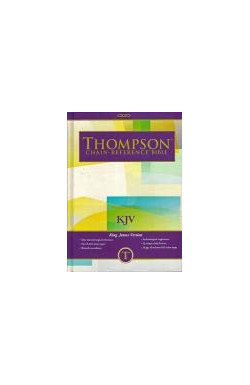 KJV Thompson Chain Reference Study Bible Hardback, Standard Size