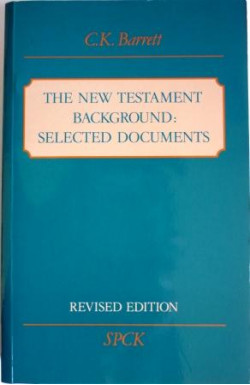 New Testament Background: Selected Documents