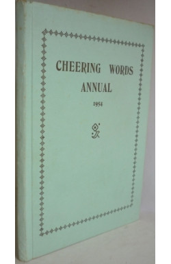 Cheering Words Annual 1954
