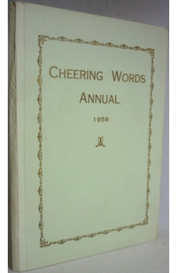 Cheering Words Annual 1956