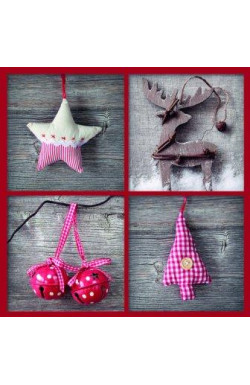Christmas Decorations - Pk of 10 Christmas Cards