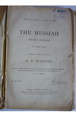 Messiah: Sacred Oratorio