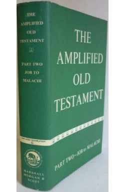 Amplified Old Testament (Job to Malachi)