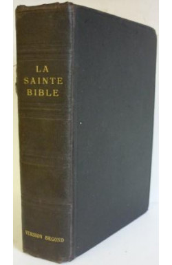 Sainte Bible (Old and NT)