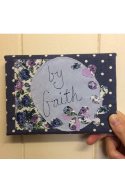 Fabric Canvas - by Faith