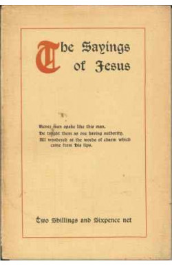 Sayings of Jesus