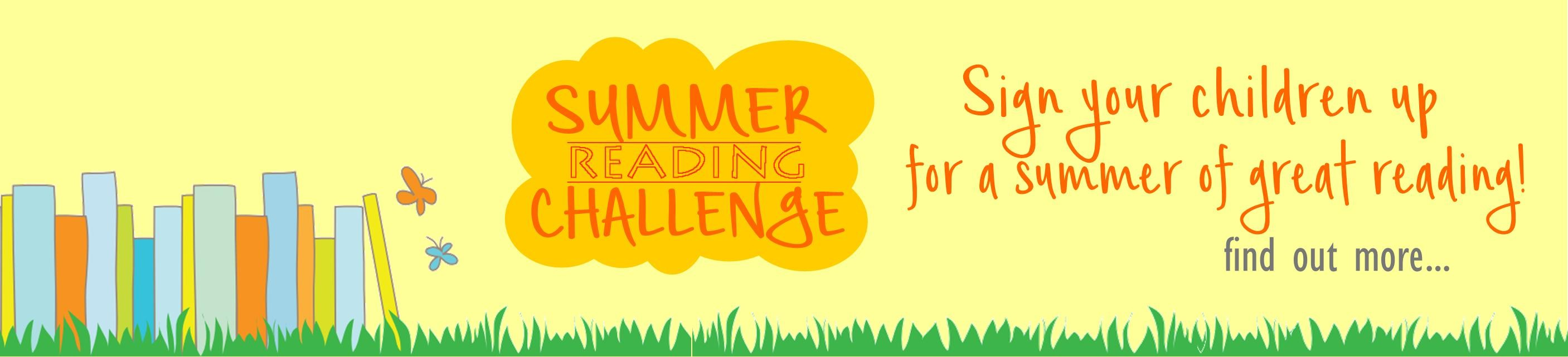 Our annual Summer Reading Challenge is back!