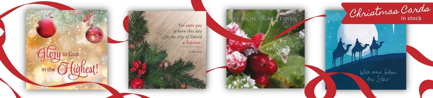 A wide variety of Christmas Cards in stock